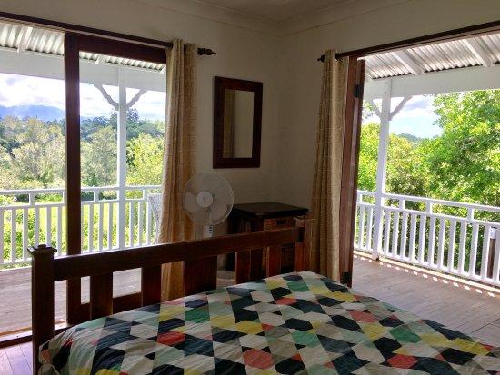 Bellingen, Australia: View from double room