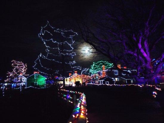 Morrisburg, Canada: Upper Canada Village ready for Christmas