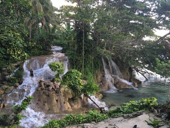 Little Dunn's River Falls