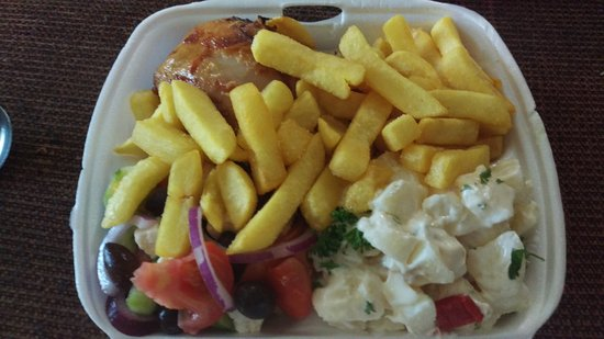 Salisbury, Australien: Chicken & Chips