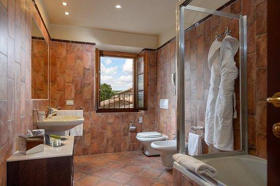 Bagnaia, Italia: Guest room