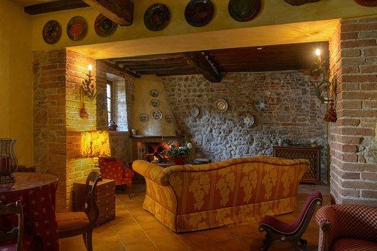 Bagnaia, Italia: Bar/Lounge