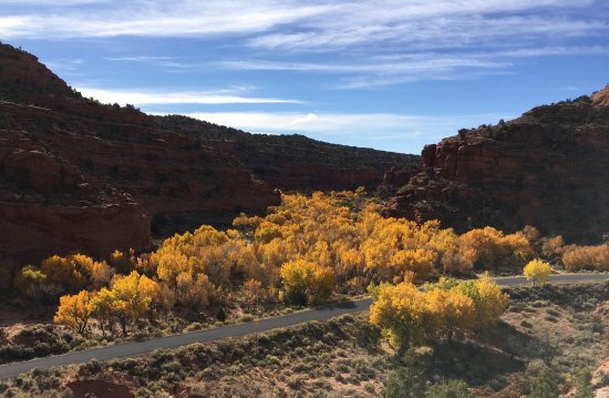 Boulder, UT: Autumn in Southern Utah along the Burr Trail