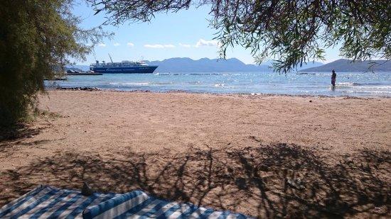 Aegina, Greece: Karnagio Beach