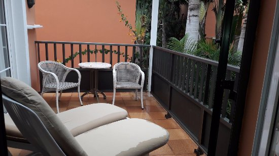 Cordial Mogan Playa: Small balcony