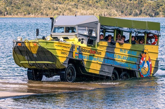 Rotorua Duck Tours - City and Lakes...