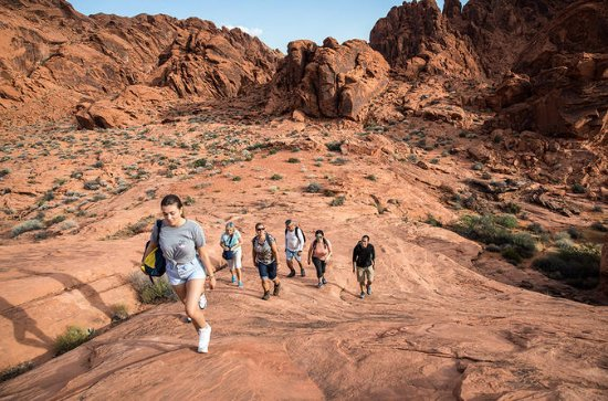 Valley of Fire Hiking Tour from Las...