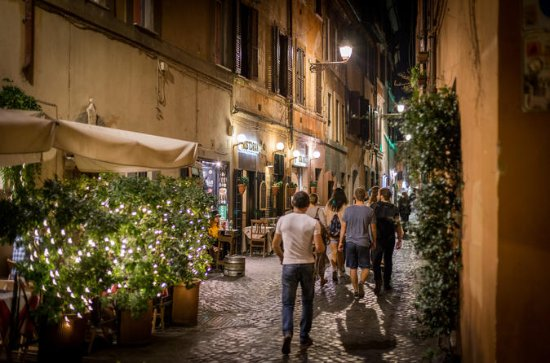 Evening Trastevere Walking Tour and