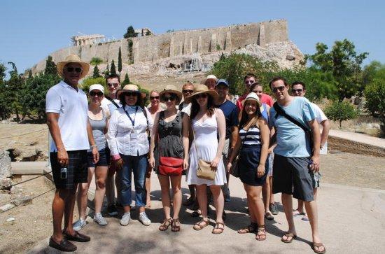 Acropoli, Tour della città di Atene