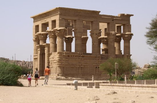 Aswan Philae Temple and High Dam...