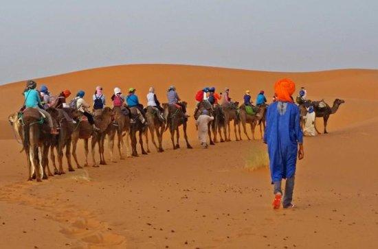 3-day Desert Safari to Merzouga from...