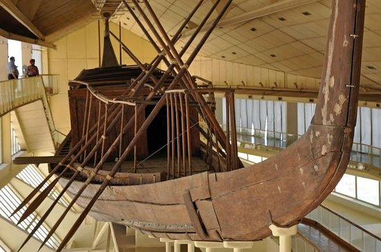 Pyramides de Gizeh, Sphinx, bateau...