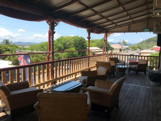 Cooktown, Australia: guest balcony