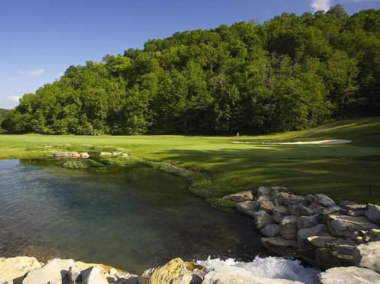 Hot Springs, VA: Golf course