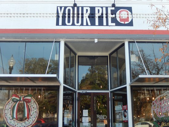 Your Pie This Is The Front Of Restaurant Located On Square In Covington