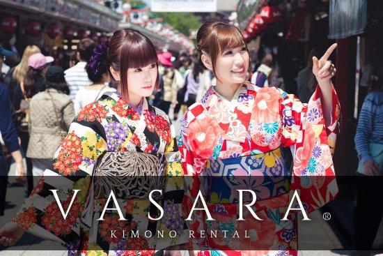 VASARA Kimono Rental , Asakusa Honten