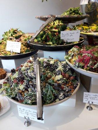 Ottolenghi - Islington: Les salades à emporter aussi