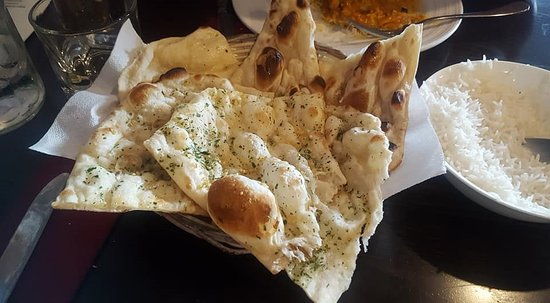 Masterton, New Zealand: Naan bread