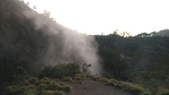 Toya Bungkah, Indonesien: Mt batur crater