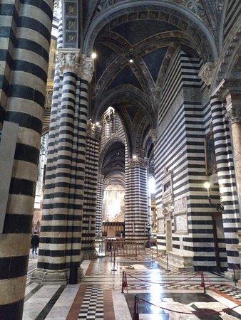 Siena, Włochy: interior de la catedral, impresionante