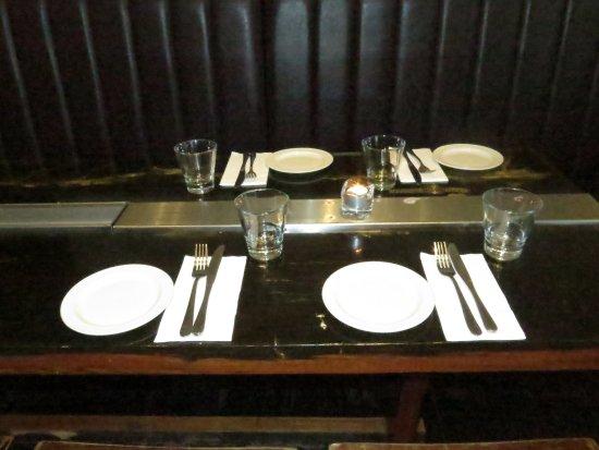 tisch picture of terra rossa restaurant bar melbourne. Black Bedroom Furniture Sets. Home Design Ideas