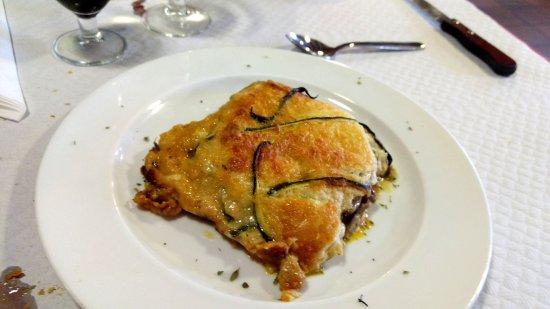 Baga, Spanien: Lasaña de carbasso