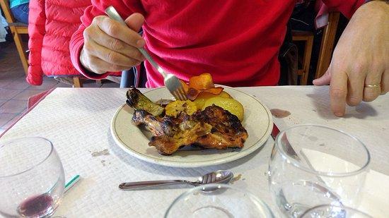Baga, Spanien: Pollo