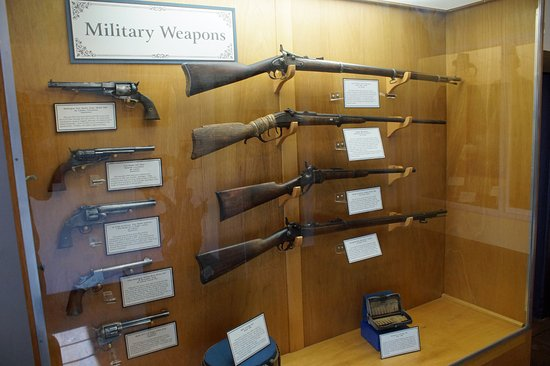 Fort Verde State Historic Park : Weapons