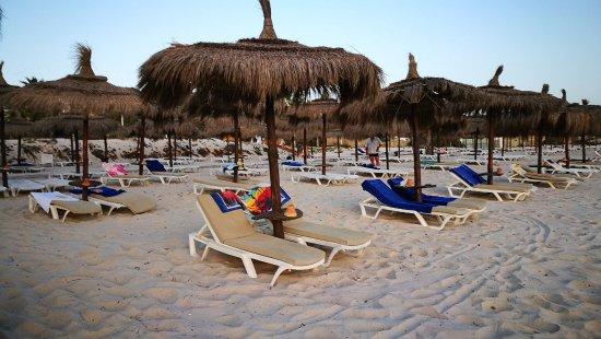 El Mouradi Palm Marina : пляж