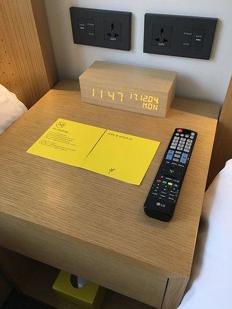 L7 Hotel Myeongdong: 很簡約有型的擺設