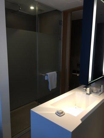 L7 Hotel Myeongdong: 浴室一眼見晒