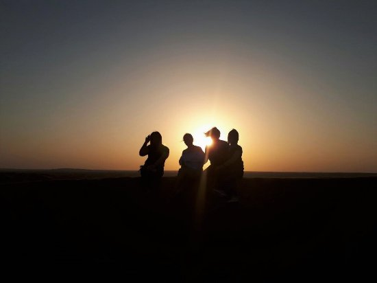United Arab Emirates: Sunset...heart heart :)