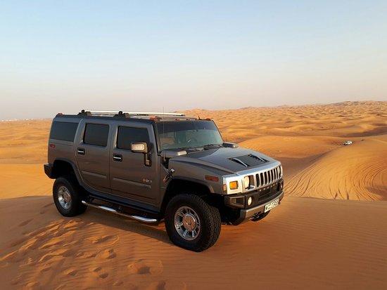 De Forenede Arabiske Emirater: Dune Bashing