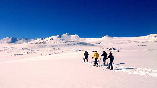 Akureyri, Island: Snowshoe Delight with Wide Open