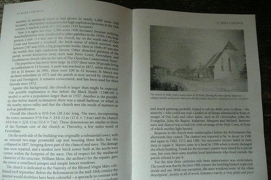 Luddenham, UK: book about the church