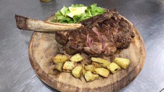 Pontassieve, Italië: bistecca tomahawk