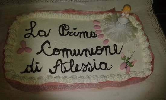 Casole d'Elsa, Italy: Customizable cakes