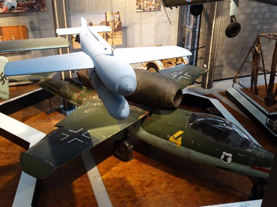 Deutsches Technikmuseum Berlin: V1 & He 162
