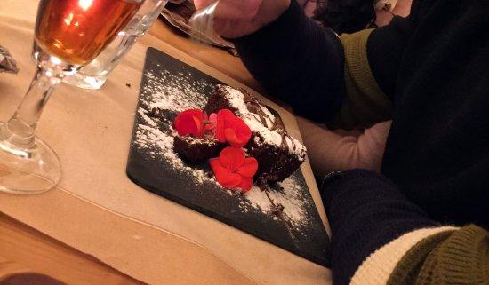 Ponsacco, Włochy: Torta al cioccolato