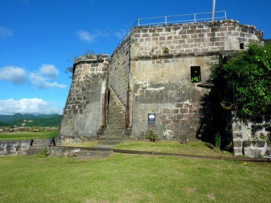 A l'intérieur du Fort Frederick
