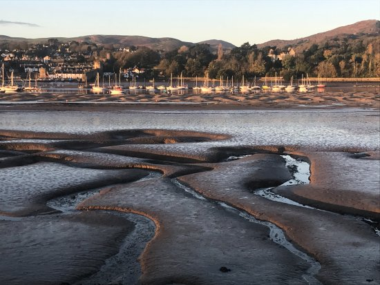 Deganwy, UK: View from walk to Conwy