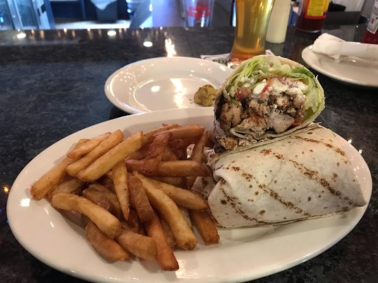 Randolph, MA: Grilled Chicken Wrap (#3)
