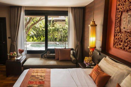 Siripanna Villa Resort & Spa: View on the swimming pool