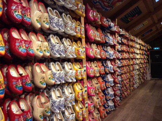 Marken, Holland: Colourful clogs
