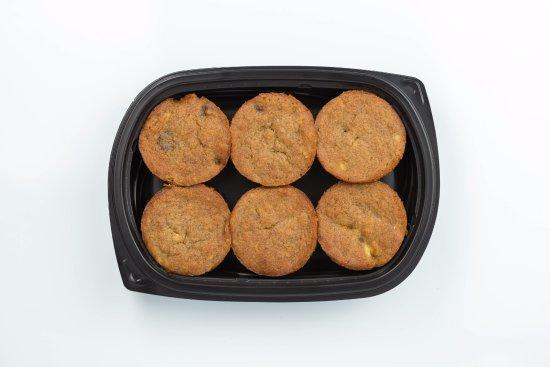Creve Coeur, MO: Banana Chocolate Chip Muffins 6 pack