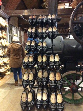 Marken, Holland: Some spare clogs