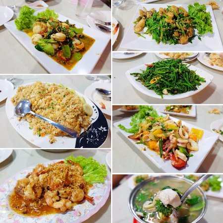 seafood supper picture of ban pak chok aree restaurant pranburi