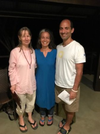 The Expanding Light Retreat: Our wonderful hosts: Maitri, Dharmadevi and Narayan