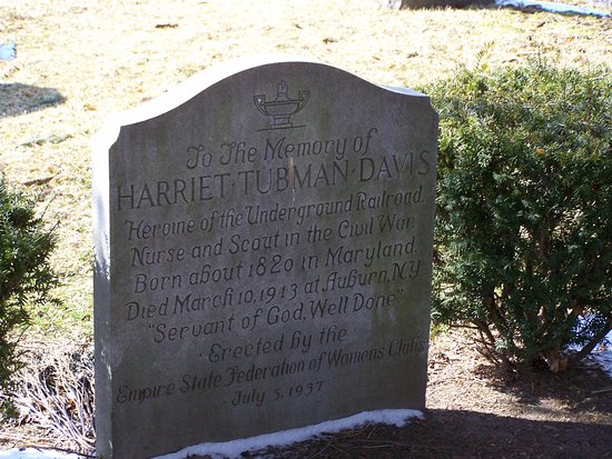 Auburn, NY: Harriet Tubman's Grave