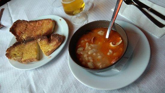 Nuévalos, España: Menú del dia